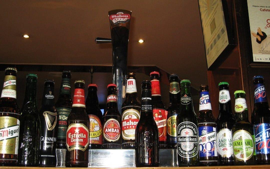 Cervezas artesanas y de importación en Benasque