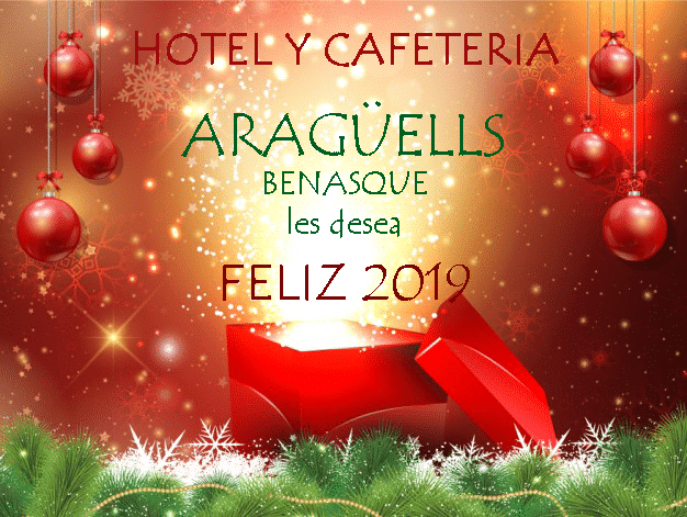 Felices fiestas, feliz Navidad, Navidad Benasque, Nochevieja Benasque 2019, Nochevieja 2019